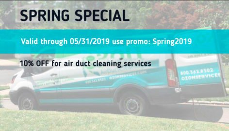 discount coupon Air duct cleaning