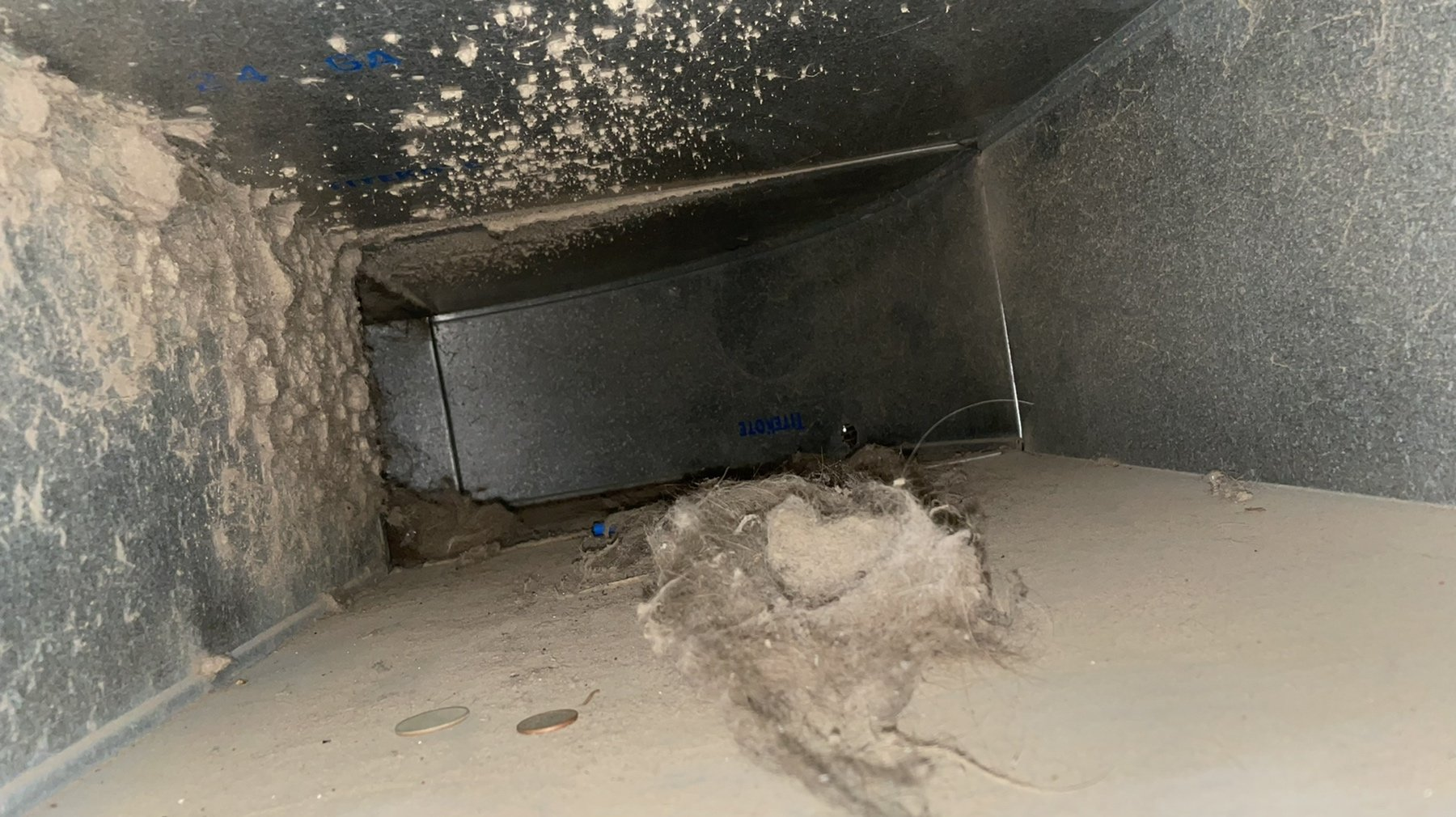 average cost of home air duct cleaning